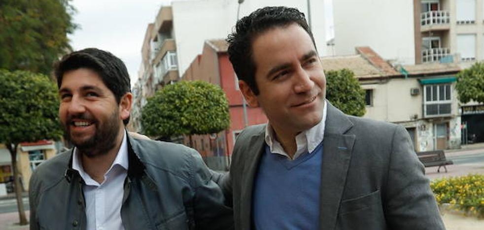 Teodoro García se presenta como cabeza de lista del PP por Murcia para el 28-A