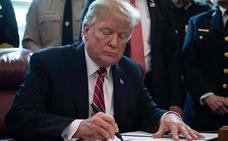 Trump confirma el veto a la resolución del Congreso contra la 'emergencia nacional'