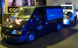 Detenido por robar un vehículo funerario para «marcharse de Murcia»