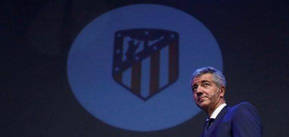 Gil Marín: «Confío plenamente en nuestro proyecto deportivo y en Simeone»