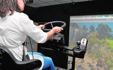 El sistema antivuelco de tractores desarrollado por la UPCT, en el Sicarm