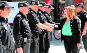 La Policía Local rinde homenaje a su patrón
