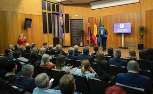 Fernando López Miras pronuncia el pregón de la Asociación de Nazarenos Murcianos