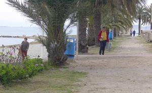 Autorizada la cesión de suelo para que el paseo de Los Urrutias esté en 2020
