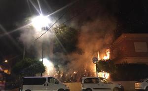 Varios incendios ponen en alerta a la Policía en Mula