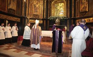 Comienzan los actos del Tiempo Jubilar de la Virgen de las Huertas