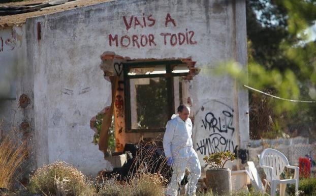 El verdadero origen de la pintada en la casa de los niños asesinados en Godella: «Vais a morir todos»