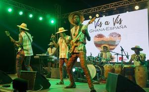 FRA! y Kyekyeku & Ghanalogue Highlife, los grupos musicales ganadores del Ghana Vis a Vis, actuarán en La Mar de Músicas