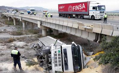 Murcia, tercera comunidad con mayor tasa de accidentes de tráfico laborales