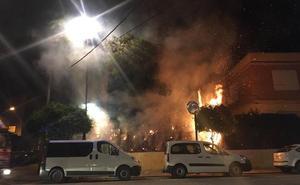 Quinto incendio cerca de un centro escolar en cuatro días en Mula