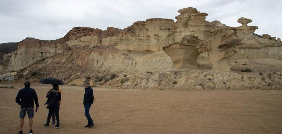 Las Gredas de Bolnuevo, segundo Monumento Natural