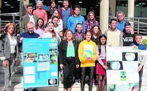 Alumnos del IES Dos Mares realizan un proyecto sobre la cristalización de la sal