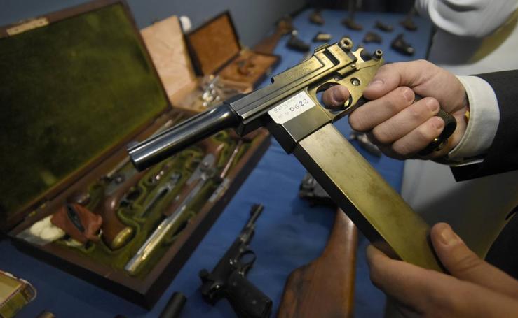 La Policía interviene 39 armas de fuego históricas en una vivienda de Murcia