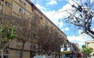 Extinguen un incendio en una vivienda de La Paz