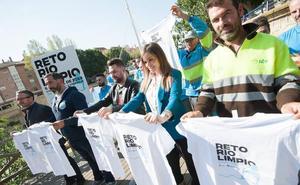 Cientos de voluntarios participarán en la segunda edición del Reto Río Limpio el 6 de abril