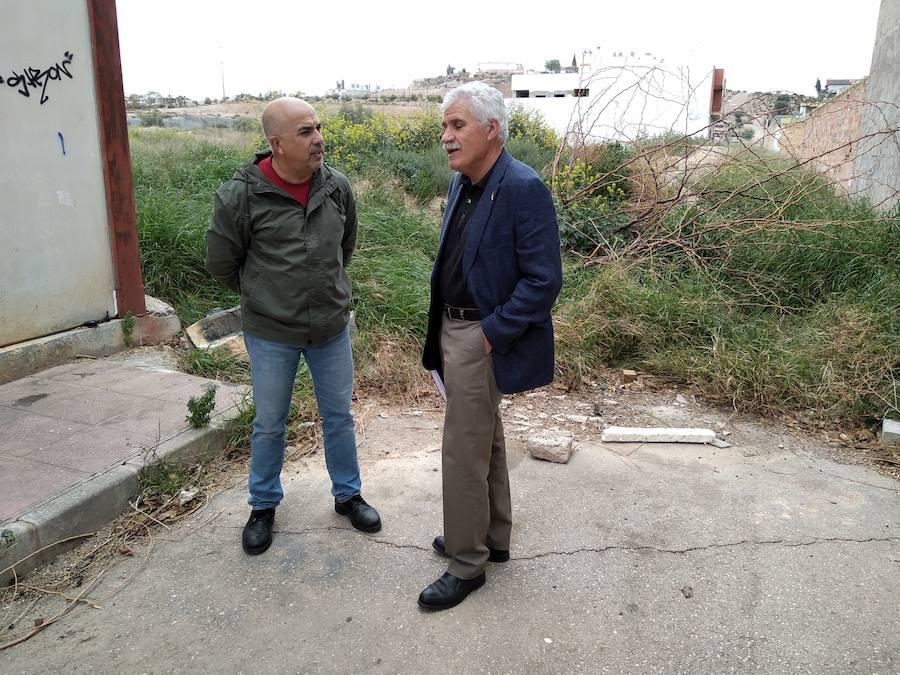 Los vecinos piden una solución para la «calle del bancal» en Alcantarilla