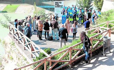 Voluntarios adecentarán el cauce del Segura a pie, en patines y en barca