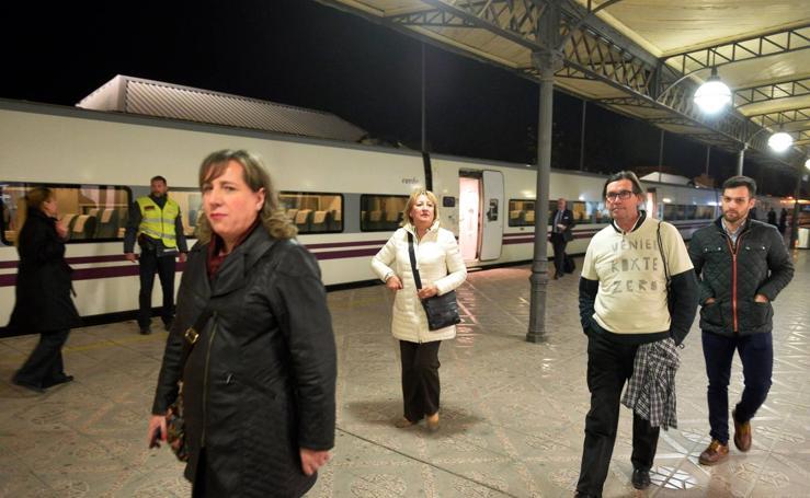 Primer tren Altaria procedente de Madrid