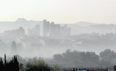 Los ecologistas denuncian otro pico de contaminación en Cieza por quemas antiheladas