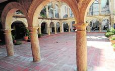 Licitan por 360.000 euros la restauración de los arcos del claustro de Santo Domingo