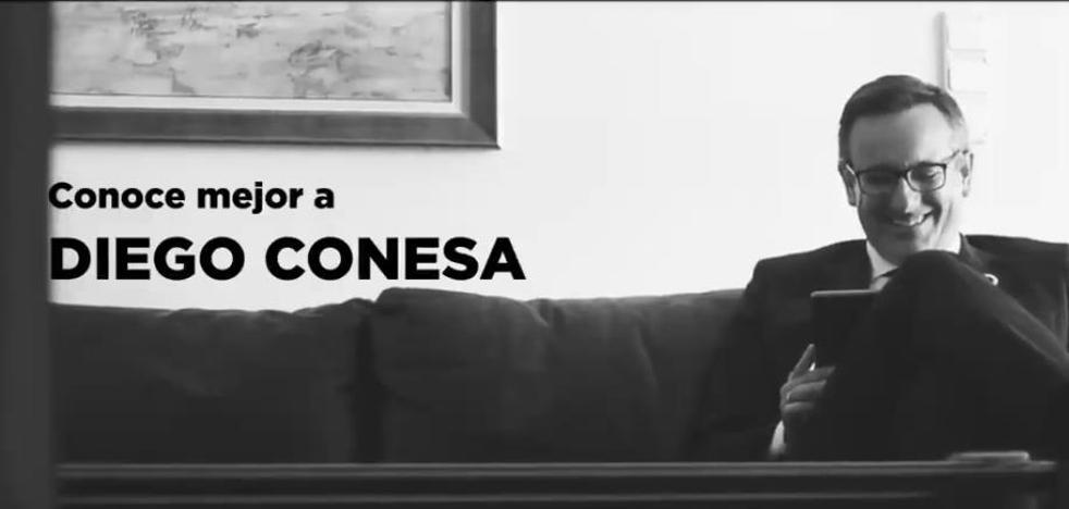 El PSOE muestra el lado más íntimo de Diego Conesa
