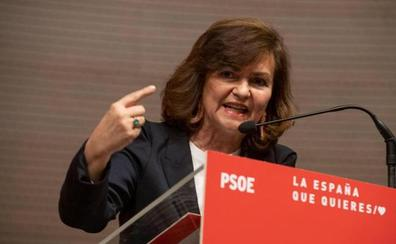 Calvo garantiza que defenderán a Cataluña de «separatistas y separadores»
