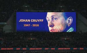 El fútbol recuerda a Cruyff cuando se cumplen tres años de su fallecimiento
