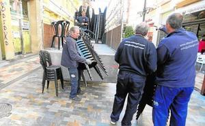 El Ayuntamiento busca una empresa que gestione las sillas de las procesiones