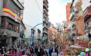 La Virgen de la Salud ya luce su bastón de mando de Alcaldesa Perpetua de Archena
