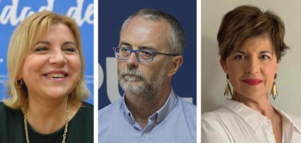 Violante Tomás, Domingo Segado y Marian Vicente, en la lista del PP al Senado