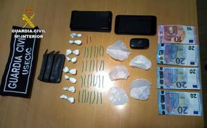 Detienen en Santomera a un vecino de Murcia con 50 dosis de cocaína
