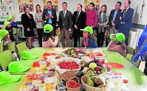 Más de 400 colegios se unen al plan de consumo de frutas y verduras