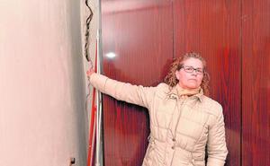 Cinco viviendas se agrietan en Santa María por la rotura de una tubería de agua potable