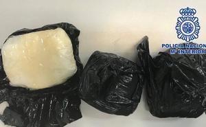 Detienen a dos personas en Cartagena tras ser sorprendidas con medio kilo de cocaína