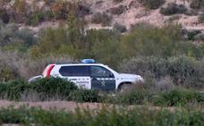 La Guardia Civil investiga el presunto asesinato de un hombre en el cauce del Guadalentín en Totana