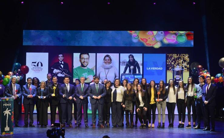 7TV entrega sus premios Fénix