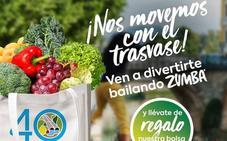 Proexport repartirá una bolsa de productos cultivados gracias al Trasvase en una sesión de zumba