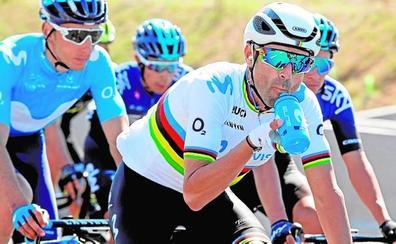 Guillén espera contar con Valverde en la Vuelta