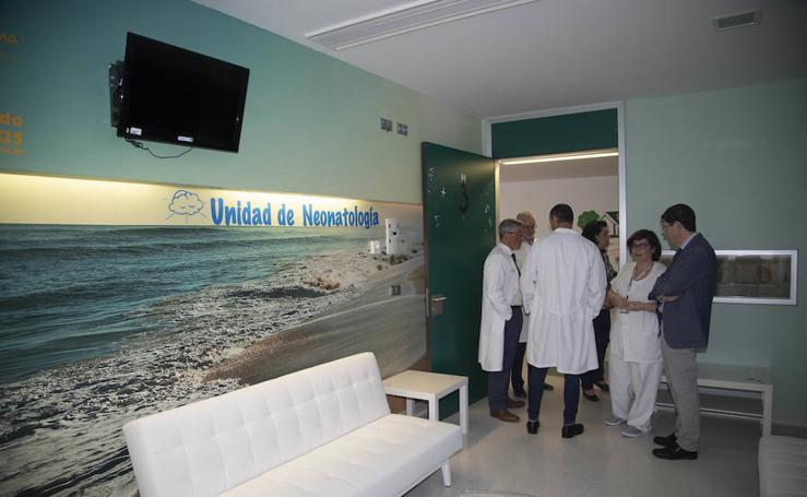La UCI Neonatal del Hospital Santa Lucía estrena decoración y mobiliario