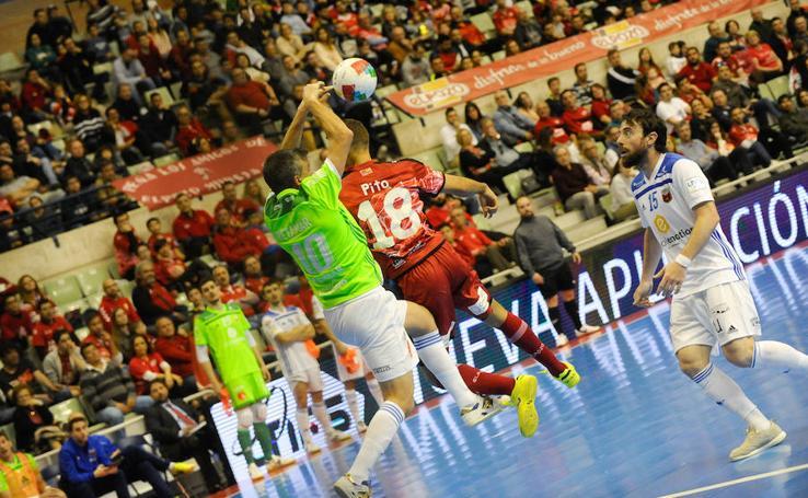 Victoria de ElPozo ante el Zaragoza (4-1)