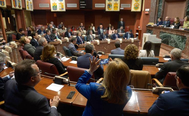 Votación histórica en la Asamblea