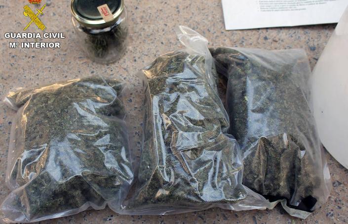 Un detenido por venta de droga al menudeo en Cehegín
