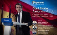 Aznar apoyará en Murcia la candidatura del PP para contrarrestar a Vox