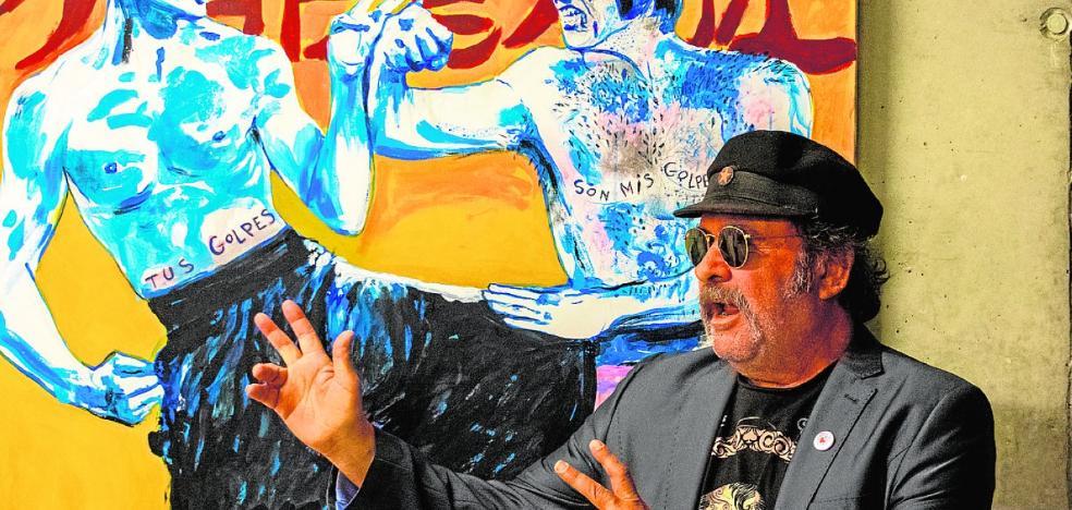 El pintor Juan Ros versiona escenas inmortales del cine