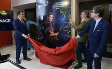 La actriz Marta Nieto encarna a la diosa Flora en el cartel de las próximas Fiestas de Primavera