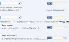Declaración de la Renta 2018 - 2019: Estas son las deducciones que puedes meter en el borrador si vives en Murcia