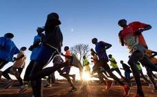 La región de Kenia en la que los maratonianos adelantan al sol