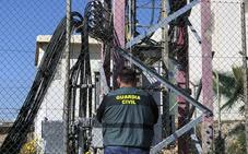 Desmantelan un grupo criminal que sustraía baterías en instalaciones de telefonía móvil