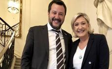 Le Pen y Salvini escenifican la alianza ultra para las europeas