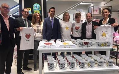 Pepa Aniorte crea una línea de tazas y camisetas solidarias para luchar contra el cáncer infantil
